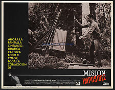 MISSION IMPOSSIBLE VS. THE MOB SUPER RARE 1967 11X14 LOBBY CARD  PETER LUPUS