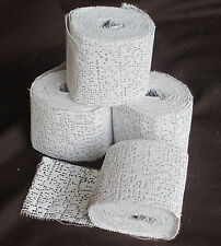 Scenery Plaster Bandage/Gauze 4 roll pack 50mm width total 10.8 metres