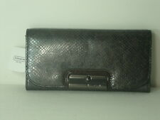 Coach Kristin Embossed Python Slim Envelope Wallet ~ F46365