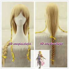 90cm long The Legend of Zelda Princess Zelda straight blonde Cosplay Wig