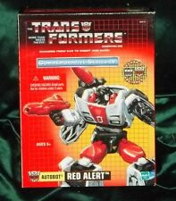 TRANSFORMERS G1 TRU REISSUE  RED ALERT COMMEMORATIVE MMMMMMM