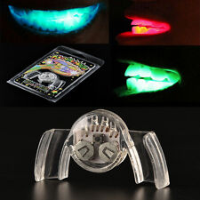 Glow Tooth Light Up Mouthpiece LED Mouth Guard Flashing Teeth Mouth Party EF