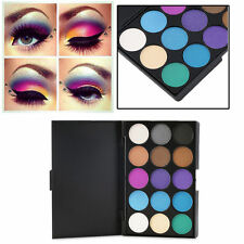 Cosmetic Matte Eyeshadow Cream Eye Shadow Makeup Palette Shimmer Set 15 Colors