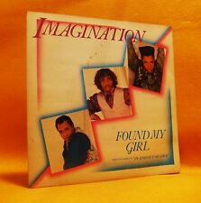 "7"" Single Vinyl 45 Imagination Found My Girl 2TR 1985 (MINT) Synth Pop Disco"