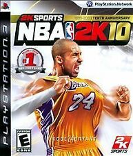 NBA 2K10 Tenth Anniversary (PS3) DISC ONLY IN A PS3 CASE -  FAST SHIPPER