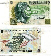 TUNISIA 5 DINAR 2008 P-92 UNC