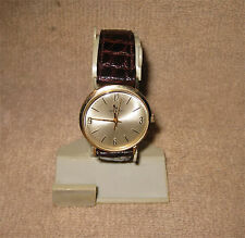 Vintage HAMILTON 10K Solid Gold 1970 FORD Presentation Men's Watch Wristwatch