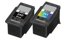 2-pk For Canon PG-240 CL-241 Ink Cartridge For Pixma MG and MX Series