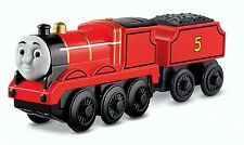 Battery Motorised JAMES Train Engine for Wooden Track ( Brio Thomas ) NEW