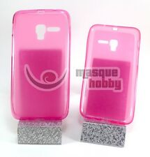 "Funda Carcasa Gel TPU Lisa Alcatel One Touch POP 3 - 5"" Rosa NUEVO"