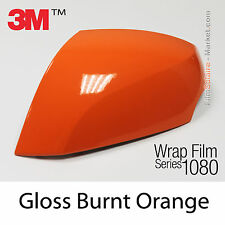 20x30cm FILM Gloss Burnt Orange 3M 1080 G14 Vinyle COVERING Wrap Car Wrapping