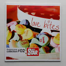 THREESOME COLLECTION - VOL 2 - LOVE BITES - DAILY STAR PROMO CD - Tested