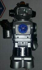 """VINTAGE BATTERY OPERATED TOY ROBOT """"FORCEBOT""""-BOTOY TAI WAY TOY CO.-WORKS!-LOOK!"""
