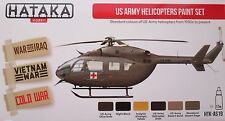 Hataka HTK-AS19 US Army Helicopters 6 colour paint set