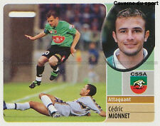 CEDRIC MIONNET # CS.SEDAN VIGNETTE STICKER  PANINI FOOT 2003