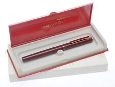 Sheaffer Sentinel stilografica rosso bordeaux lucido, nuova in box