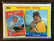 1985 TOPPS FATHER & SON 13 CARD PLAYER SET G7105226