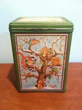 Vintage Advertising Decorative Hallmark Greeting Card Tin