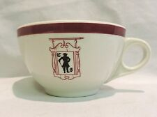 VINTAGE COMMERCIAL RESTAURANT WARE HOTEL MAYER 267 CHINA COFFEE CUP COLONIAL MAN