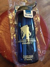 CamelBak Eddy 1L Water Bottle Blue Limited Edition Wounded Warrior Project NEW
