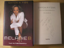 MELANIE B - CATCH A FIRE  1st/1st   HB/DJ   2002  SIGNED & LINED