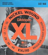 D' ADDARIO El. Guitar REGULAR LIGHT 010-046 exl-110, i7.