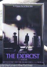 """The Exorcist Movie Poster 2"""" X 3"""" Fridge / Locker Magnet. Classic Horror!"""