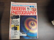 Modern Photography: How To Tell If your Zoom Is A Lemon May 1984