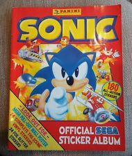 Sonic Sega 1994 Panini Sticker Album Retro Collectable Rare