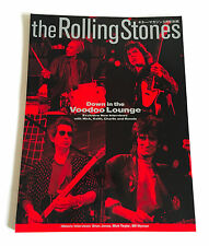 ROLLING STONES Guitar Magazine Special JAPAN PHOTO BOOK 1995 Voodoo Lounge