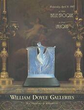 DOYLE LALIQUE Glass Perfume Scent Bottles Art Nouveau Deco Auction Catalog 1997