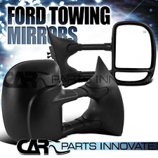 99-07 Ford F250 F350 F450 F550 Super Duty Power Heated Extending Towing Mirrors
