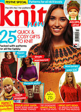 KNIT NOW #54 Patterns for all Skill Levels ROWAN SCARF Penguin Socks @NEW@