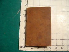 vintage book: THE IMPROVEMENT OF THE MIND by ISSAC WATTS 1833, by Emerson