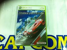 XBOX360 GAME RIDGE RACER 6 (ORIGINAL BRAND NEW)