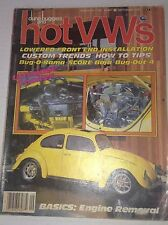 Dune Buggies And Hot VWs Magazine Front End Install September 1983 042117nonrh