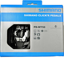 NEW 2016 Shimano Click'r Easy Release MTB Trail Dual Sided SPD Pedals: PD-MT50