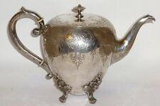 Alte silberne Teekanne 12 Loth Kaffeekanne Kanne 750er Silber silver Biedermeier