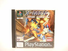 X-MEN MUTANT ACADEMY 2 complete in box with manual PAL PS1 Sony Playstation 1