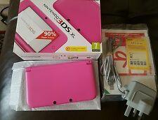 Nintendo 3DS XL Pink Console Boxed & Complete mint condition