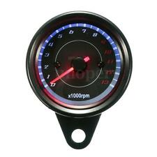 13000RPM Universal Motorcycle LED Backlight Tachometer Speedometer Tacho Gauge