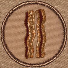 Great Boy Scout Patches - BACON!!! Patrol Patch!! (#652)