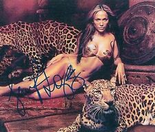 """Jennifer Lopez (See Thru) Dance Again Booty """"Shades of Blue"""" RARE SIGNED RP 8x10"""