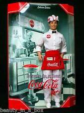 Coca-Cola Soda Jerk Ken Doll Barbie