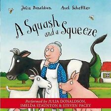 A Squash and a Squeeze, Julia Donaldson - Audio CD Book NEW 9781405050524