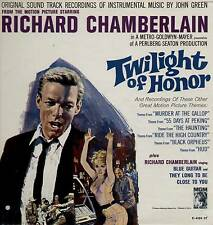 JOHN GREEN / RICHARD CHAMBERLAIN ~ TWILIGHT OF HONOR ~ 1963 US 12-TRACK MONO LP