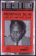 Memphis Slim-Live At The Hot Club LP CASSETTE MILAN SEALED OOP