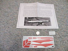 Flight Path decals 1/200 FP20-10 TWA Boeing 767-200  A24