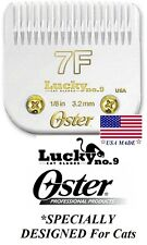 Oster Lucky No9 Feline 7F Blade CAT Grooming 1/8-3mm*Fit A5/A6,Most Wahl Clipper