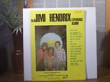 "Jimi Hendrix Songbook ""The Experience Album"" Original for Guitar w Words VG+Ex"